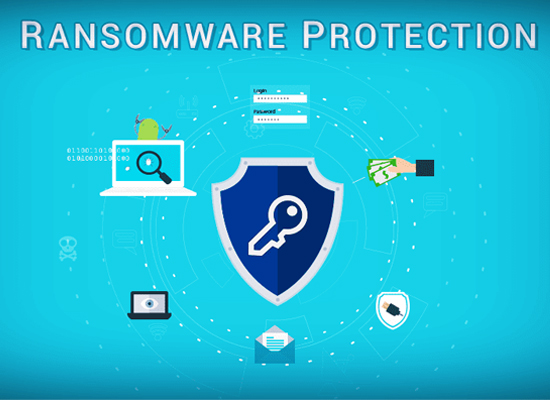 Protect against ransom ware
